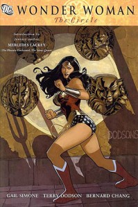 Wonder Woman The Circle Cover