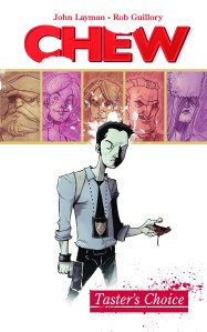 Chew graphic novel cover