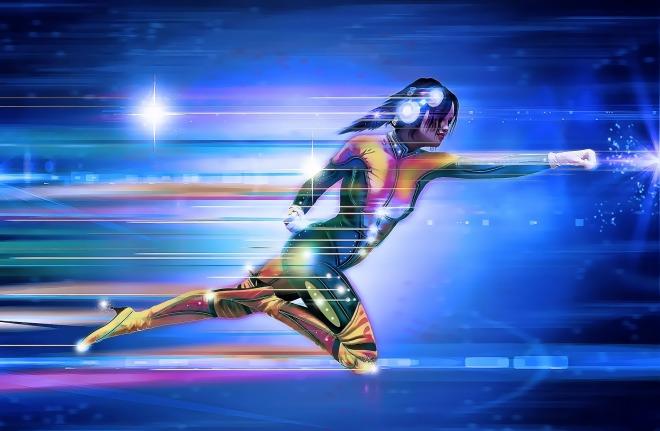 Superheroine image