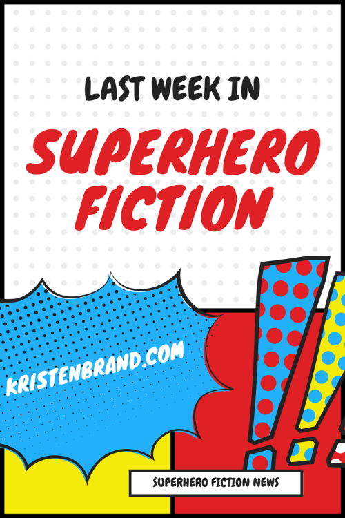 Superhero Fiction News Graphic