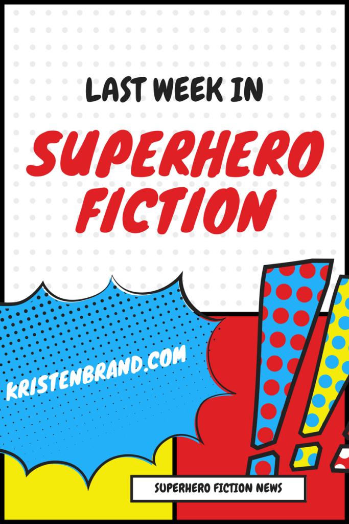 Superhero Fiction News Graphic