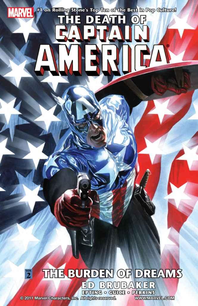 Death of Captain America Cover