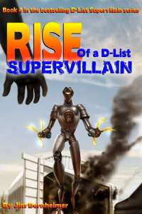 Rise of a D-List Supervillain Cover