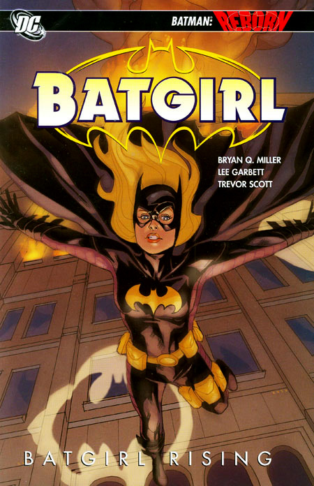 Batgirl Rising Cover