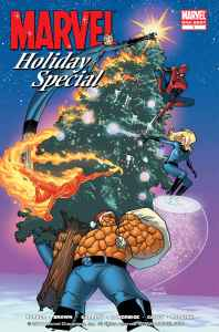 Marvel Holida Special Cover