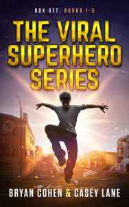 The Viral Superhero Series Cover