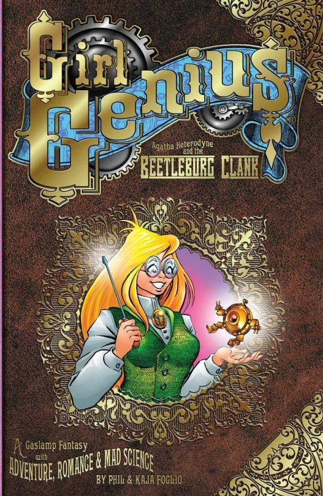 Girl Genius Volume 1 Cover