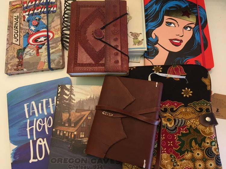 My writing journals