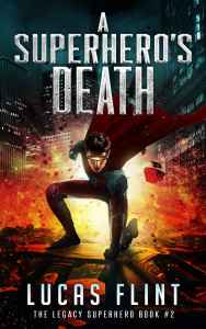A Superhero's Death Cover