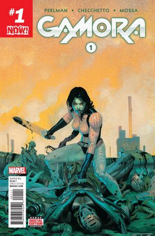 Gamora Cover