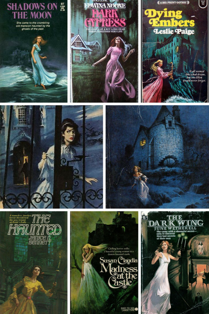 Gothic Romance Covers