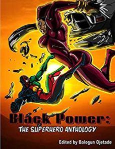 Black Power Superhero Anthology Cover
