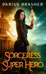 Sorceress superhero