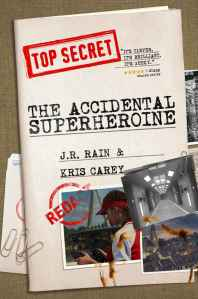 The Accidental Superheroine Cover