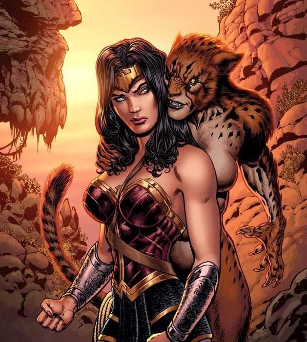 Cheetah and Diana