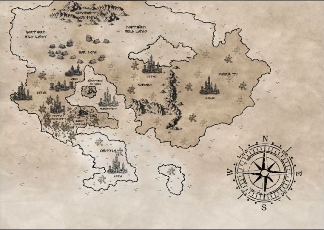 Rebellion's Song World Map