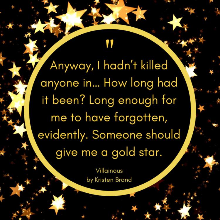 Villainous Book Quote