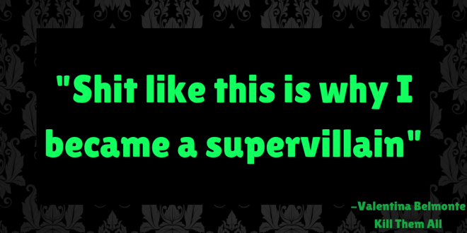 Supervillain Quote