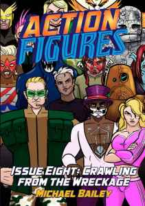 Action Figures Issue 8 Cover