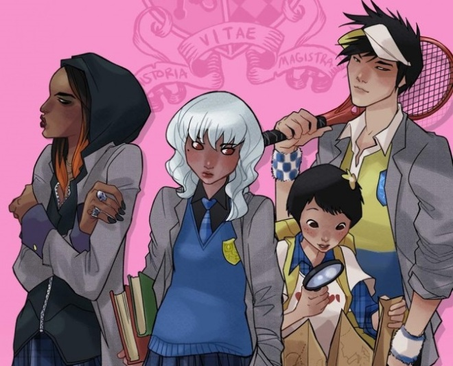 Gotham Academy Characters