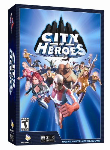 City of Heroes Game Cover