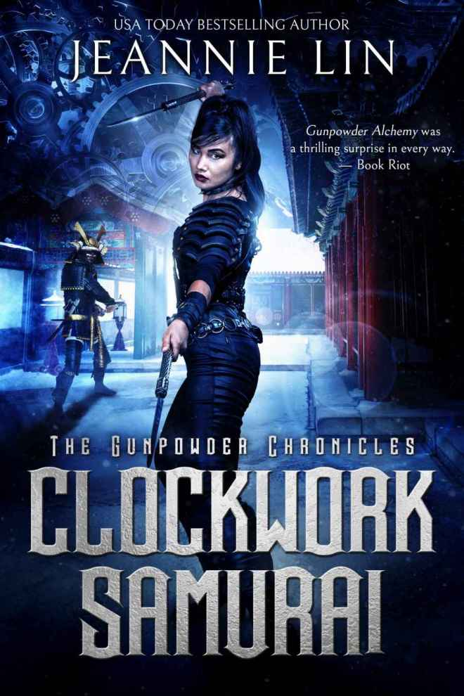Clockwork Samurai Cover