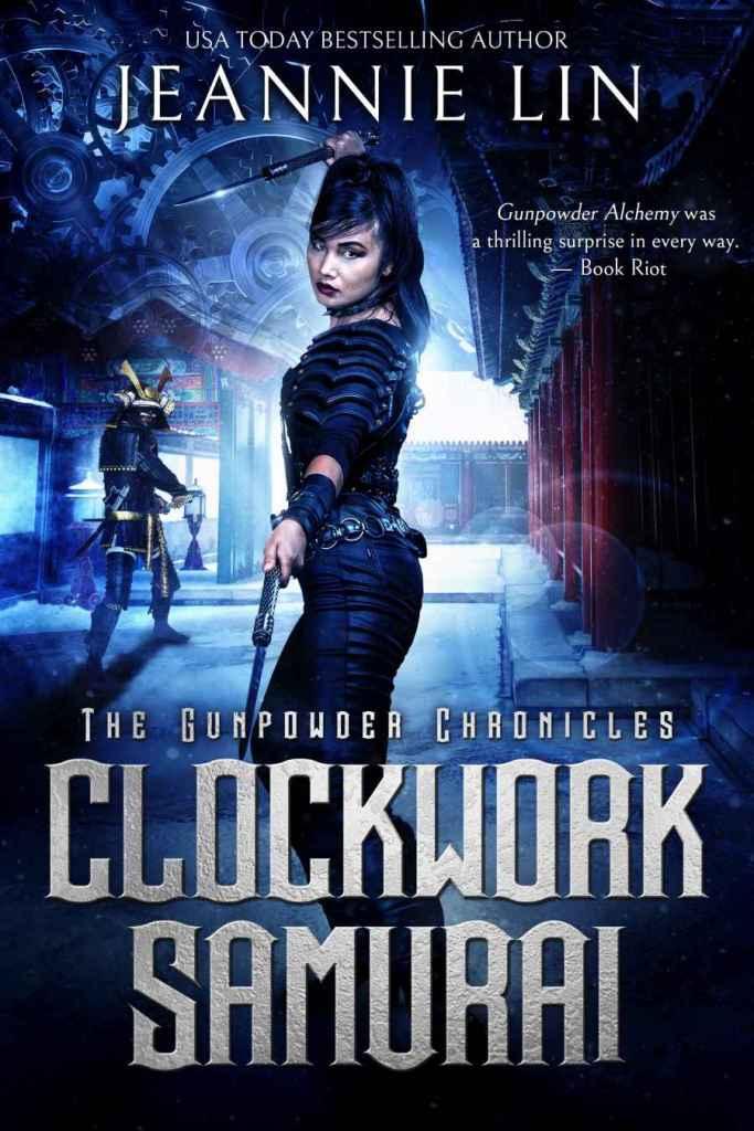 Clockwork Samurai Cover