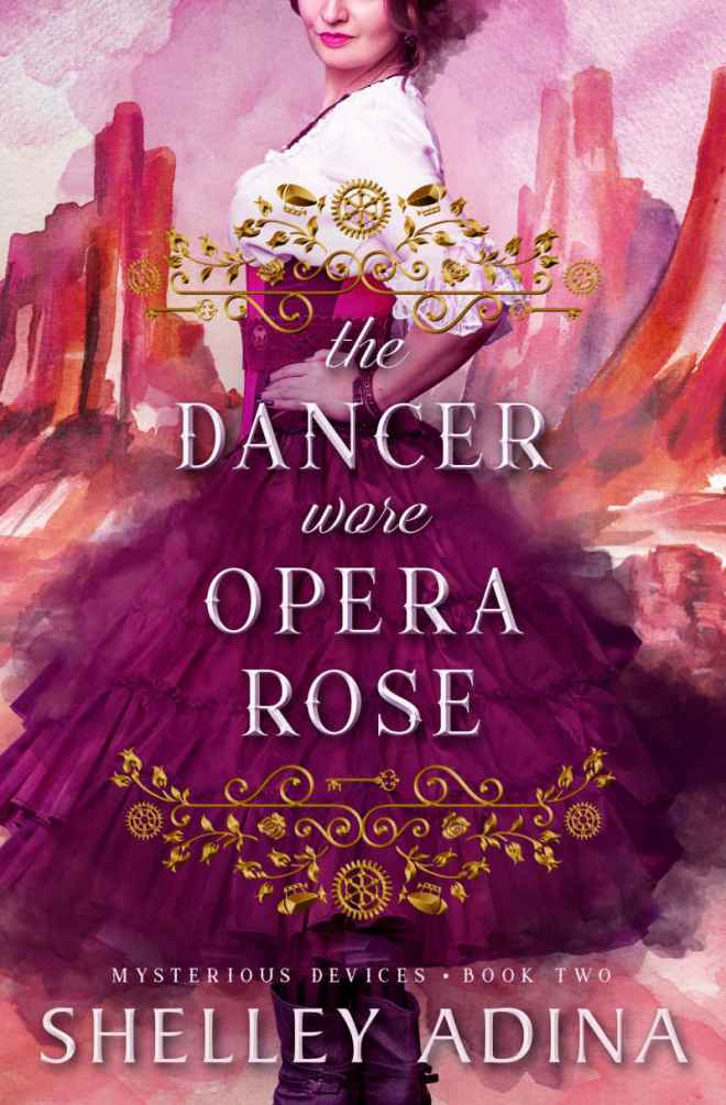 The Dancer Wore Opera Rose