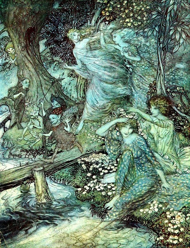 Vintage Fairy Art