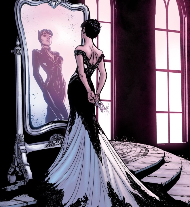 Catwoman Wedding Dress