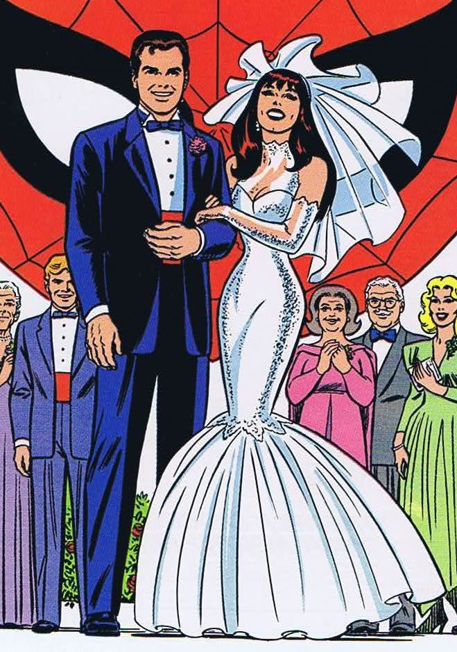Spiderman Wedding