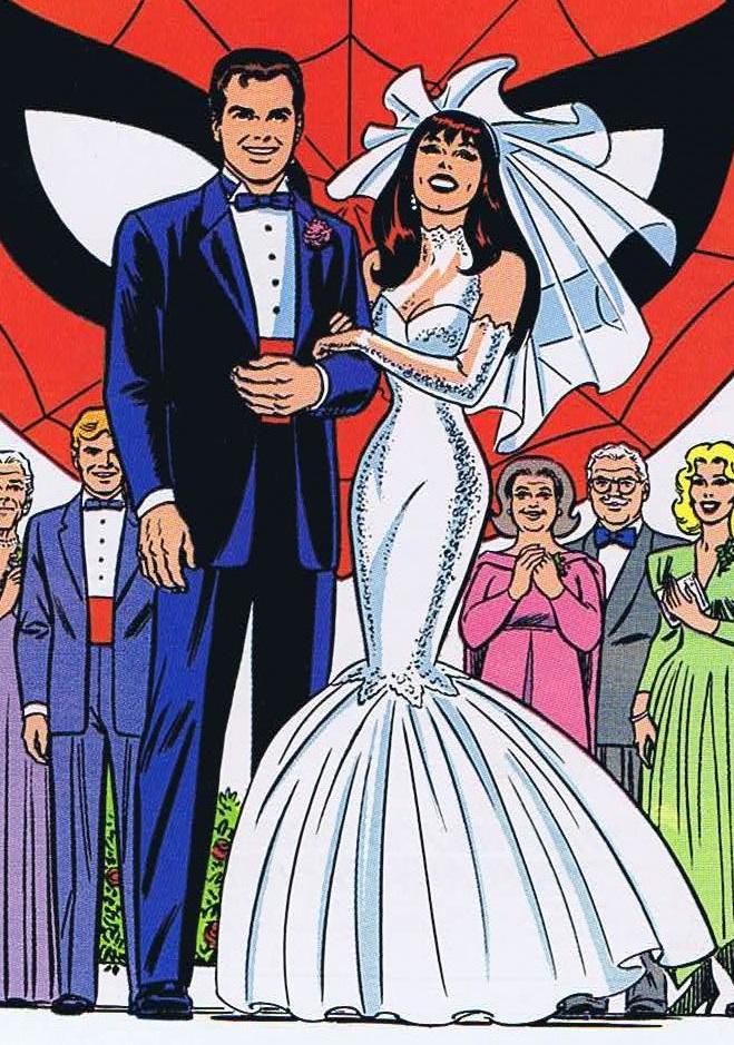 Spiderman Wedding