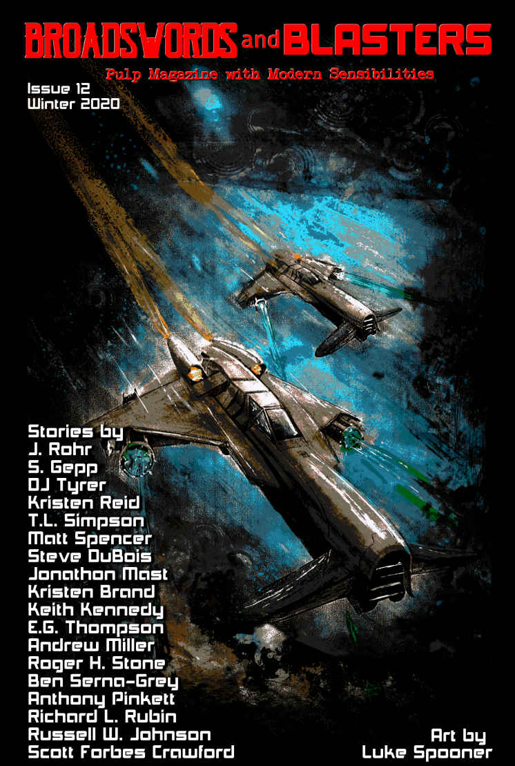 Broadswords and Blasters 12 Cover