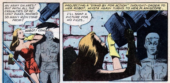 Planet Comics pages