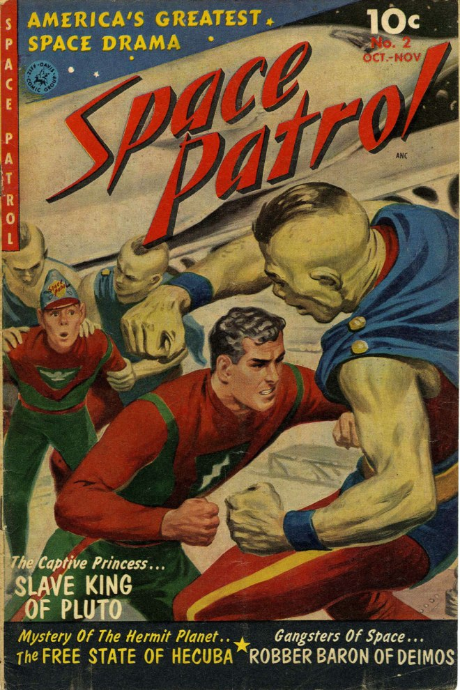 Space Patrol Comic
