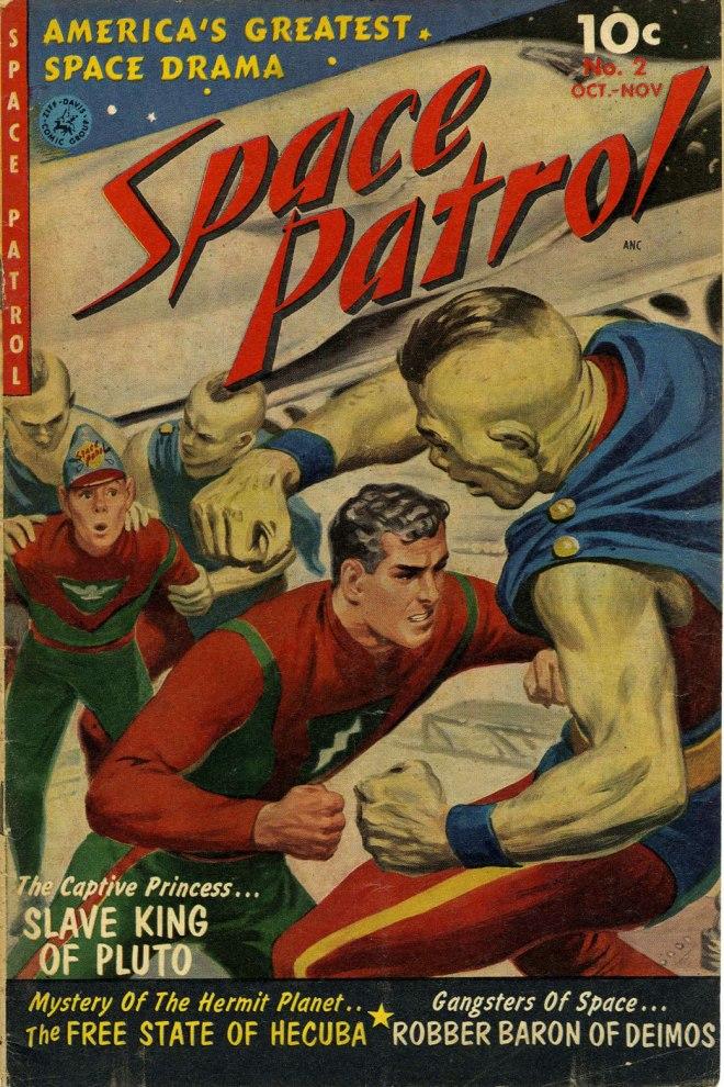 Space Patrol Comic
