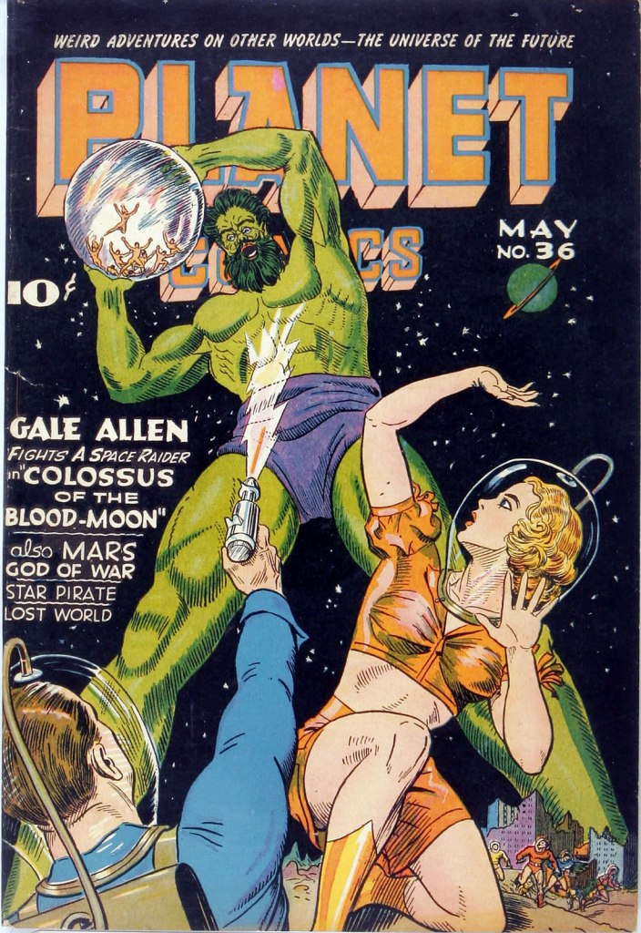 Planet Comics Issue 36 Cover