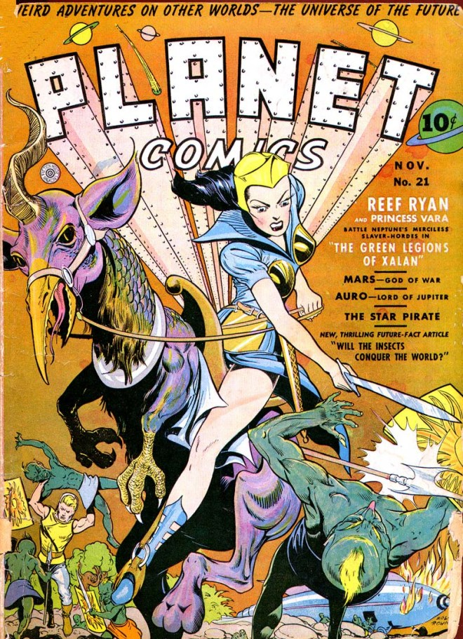 Planet Comics 21 Cover
