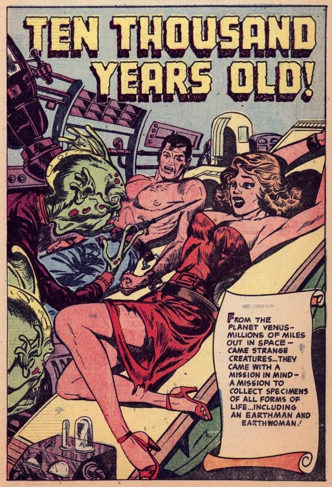 Vintage Comic Panel