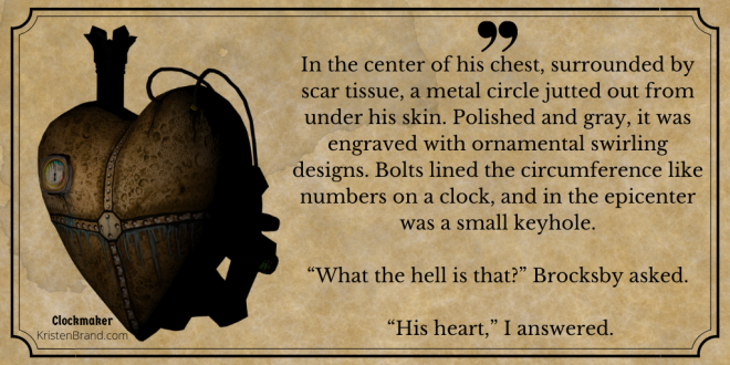 Clockmaker Book Quote 2