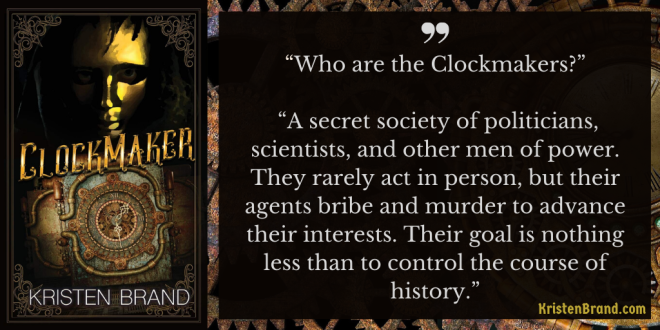 Clockmaker Book Quote
