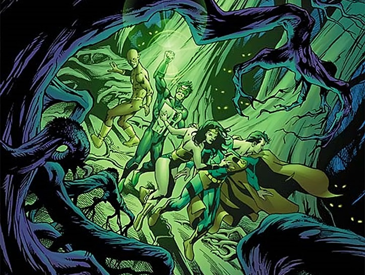Justice League Forest