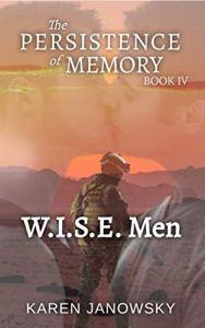 Cover of superhero romance novel W.I.S.E. Men