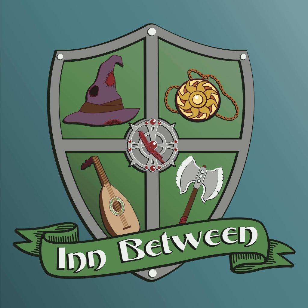 Logo of fantasy adventure podcast inn between