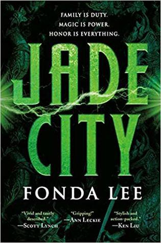 Cover of fantasy novel Jade City