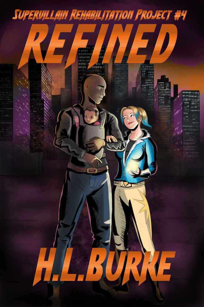 Cover of superhero novel Refined
