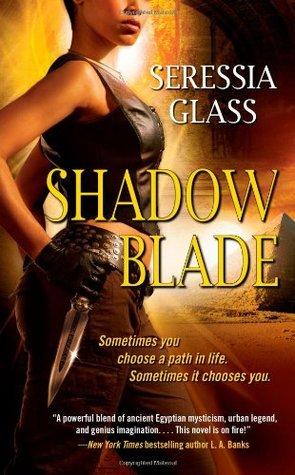 Cover of urban fantasy novel Shadow Blade