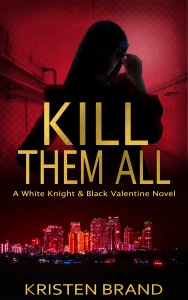 New ebook cover for supervillain revenge novel Kill Them All