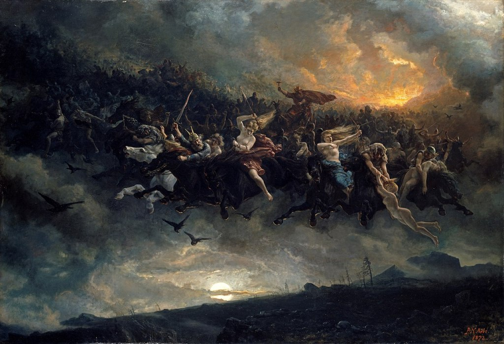 The Wild Hunt painting